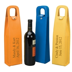Pu Leather Wine Bag