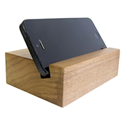 Wood Mobile Phone Stand