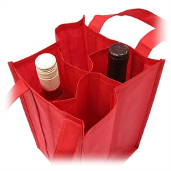 Non-woven Wine Bag (Four Bottles)